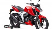 Tvs Apache Rtr 160 Bs Vi Front Three Quarter