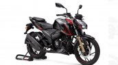 Tvs Apache Rtr 200 4v Bs Vi Front Three Quarter