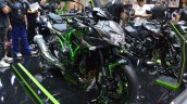 2020 Kawasaki Z H2 Thai Auto Expo Right Front Quar