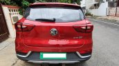 Indian Spec Mg Zs Ev Rear Spy Photo