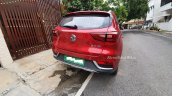 Indian Spec Mg Zs Ev Rear Spy Shot