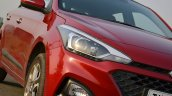 2018 Hyundai I20 Facelift Review Headlight