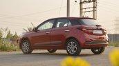 2018 Hyundai I20 Facelift Review Rear Angle Shot