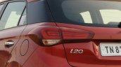2018 Hyundai I20 Facelift Review Tail Light