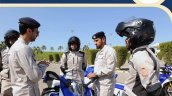 Ducati Panigale V4 S Abu Dhabi Police Bike With Of
