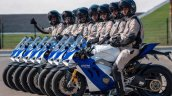Ducati Panigale V4 S Abu Dhabi Police With Riders