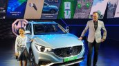 Mg Zs Ev Showcased India