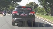 Citroen C5 Aircross Spied Images 2