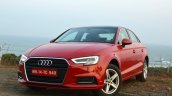 2017 Audi A3 Sedan Facelift Featured Image First D