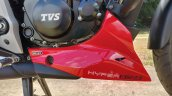 Bs Vi Tvs Apache Rtr 160 4v Details Engine Cowl