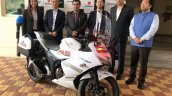 Suzuki Gixxer Sf 250 Delivered To Gurugram Traffic