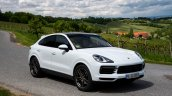 Porsche Cayenne Coupe Front Three Quarters