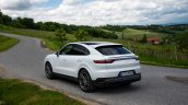 Porsche Cayenne Coupe Rear Three Quarters