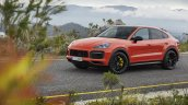 Porsche Cayenne Coupe Turbo Front Three Quarters L