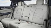Porsche Cayenne Coupe Turbo Rear Seats