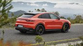 Porsche Cayenne Coupe Turbo Rear Three Quarters Ri