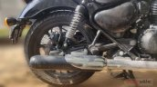 2020 Bs Vi Royal Enfield Thunderbird Spied Exhaust