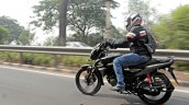 Honda Sp 125 First Ride Review Action Shots Left R