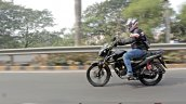 Honda Sp 125 First Ride Review Action Shots Left S