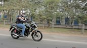 Honda Sp 125 First Ride Review Action Shots Right