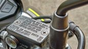 Honda Sp 125 First Ride Review Detail Shots Brake