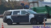 Next Gen Kia Carnival Spotted Side Profile 1
