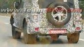 2020 Mahindra Thar Spied Rear Profile 1