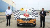 Renault Triber Export Commence 1