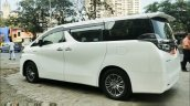 Toyota Vellfire Side Quarters White