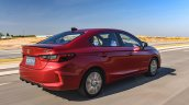 2020 Honda City Rear Three Quarters Right Side Med