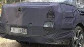 2020 Hyundai Elantra Spied Rear Fascia