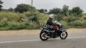 Tvs Rockz 125 Spied In India Right Rear