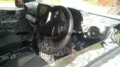 2020 Mahindra Thar Interior Dashboard Spy Shot