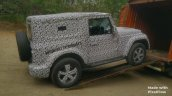 2020 Mahindra Thar Right Side Spy Shot