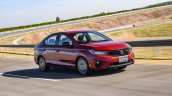 2020 Honda City Front Three Quarters Track Media D