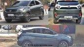 2020 Tata Nexon Spied Front Rear Side Profile 19c0