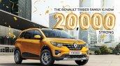 Renault Triber Sales Milestone
