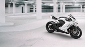 Damon Hypersport Electric Superbike White Right Si