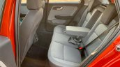 Tata Altroz Interior Rear Seat Space