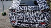 2020 Jeep Compass Facelift Rear Spy Shot