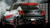 Japanese Suzuki Swift Sport Katana Edition Rear Se