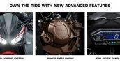 2020 Honda Cbr150r Features