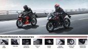 2020 Honda Cbr150r Optional Accessories