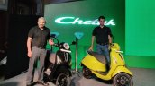Bajaj Chetak Launch Front Three Quarter 2c1b