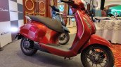 Bajaj Chetak Premium Red Front Three Quarter
