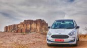 New Ford Figo Blu Review Images Exterior Front 5 6