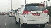 Bs Vi Toyota Innova Crysta Cng Rear Three Quarters