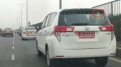 Bs Vi Toyota Innova Crysta Cng Rear Three Quarters