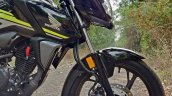 Honda Sp 125 First Ride Review Detail Shots Front