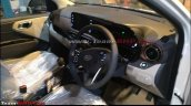 Hyundai Aura Interior Spied